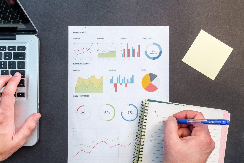 Graphiques, charts, chiffres clés